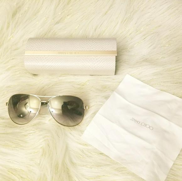 fe6aa530fcf Jimmy Choo Accessories - Jimmy Choo aviator sunglasses Lexie S EJUQH